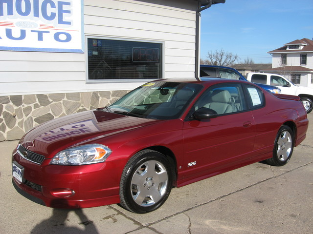 2007 chevrolet monte carlo for sale in carroll ia. Black Bedroom Furniture Sets. Home Design Ideas