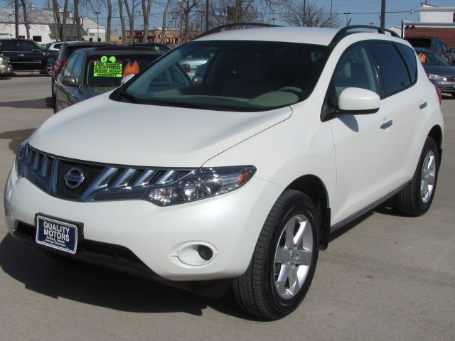 2009 nissan murano for sale in ames ia 4521. Black Bedroom Furniture Sets. Home Design Ideas