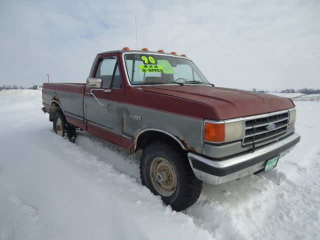 1990 ford f 250 for sale in waukon ia 101. Black Bedroom Furniture Sets. Home Design Ideas