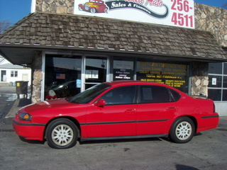 2002 chevrolet impala for sale in council bluffs ia 158851r. Black Bedroom Furniture Sets. Home Design Ideas