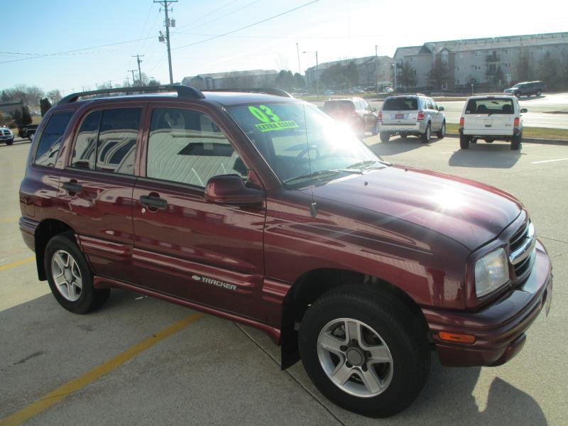 Lexus Des Moines >> 2003 Chevrolet Tracker for sale in Des Moines,IA - 935779