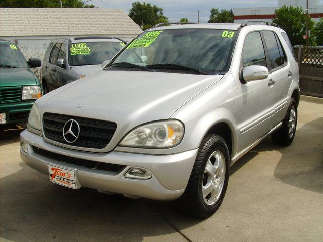 2003 mercedes benz m class for sale in des moines ia 46315 for Mercedes benz des moines iowa