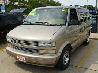 2002 chevrolet astro van for sale in des moines ia 43721. Black Bedroom Furniture Sets. Home Design Ideas