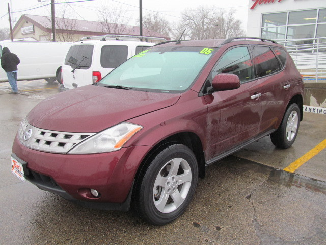2005 nissan murano for sale in des moines ia 31257. Black Bedroom Furniture Sets. Home Design Ideas