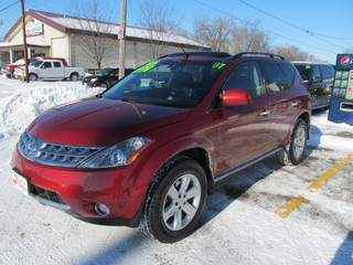 2007 nissan murano for sale in des moines ia 24329. Black Bedroom Furniture Sets. Home Design Ideas